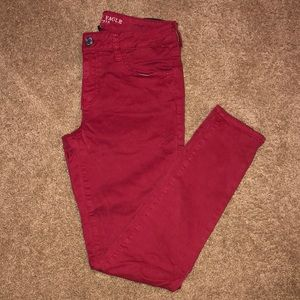 American Eagle Jegging - Red - Size 10